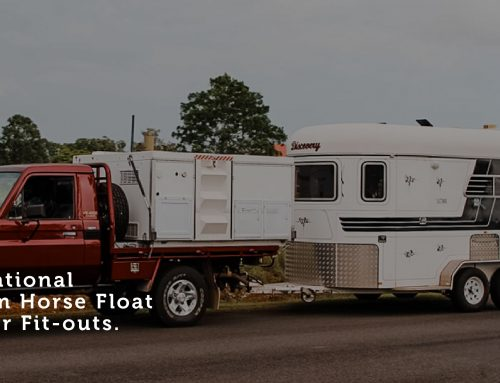 Inspirational Custom Horse Float Camper Fit-outs
