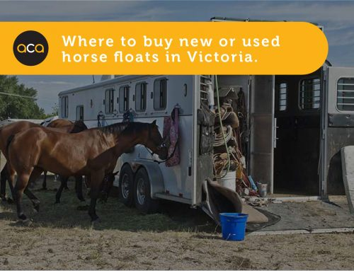 Where to Buy New or Used Horse Floats in Victoria